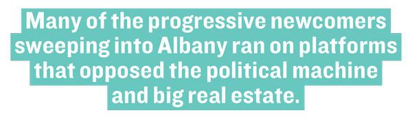 Real Estate Board of New York | Andrew Cuomo | John Banks