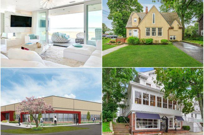 846c49fabf Clockwise from top left  Waterfront Meadow Lane home has price cut down to   8.75M