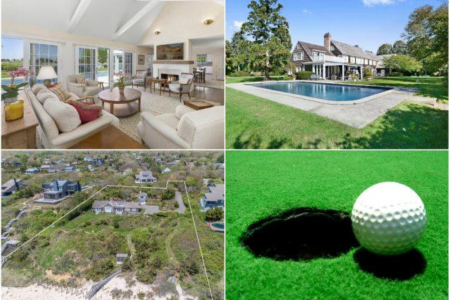 6bc9dd056759a Clockwise from top left  Waterside home in Water Mill lists for nearly   15M