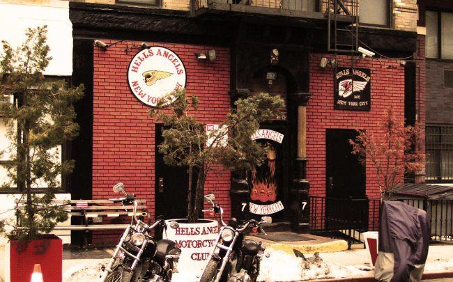 Hells Angels Clubhouse | Nathan Blatter | 77 East Third St