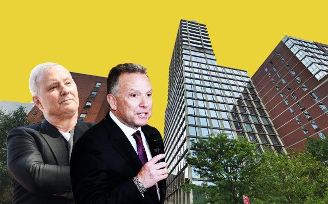 The Witkoff Group CEO Steven Witkoff and hotelier Ian Schrager with 215 Chrystie Street
