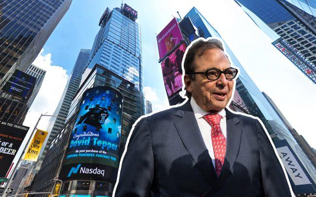 4 Times Square and Douglas Durst of The Durst Organization (Credit: Google Maps)