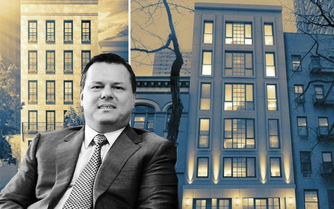 Michael D'Alessio with 184 East 64th Street and 227 East 67th Street (Credit: Benjamin Zeitlin via YouTube)