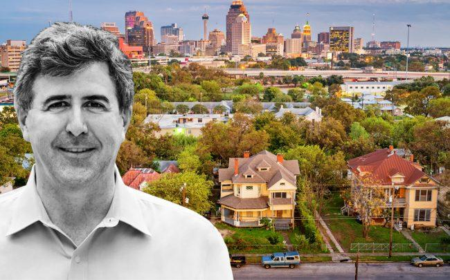 Perch CEO Court Cunningham and homes in Texas (Credit: Perch and iStock)