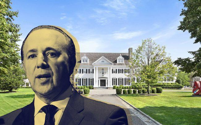 Tommy Mottola and his Greenwich Estate (Credit: Getty Images and Compass)