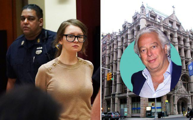 Anna Sorokin, Aby Rosen and 281 Park Avenue South (Credit: Getty Images and Wikipedia Commons)