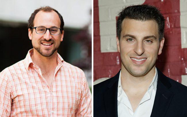 Lyric CEO Andrew Kitchell and Airbnb CEO Brian Chesky