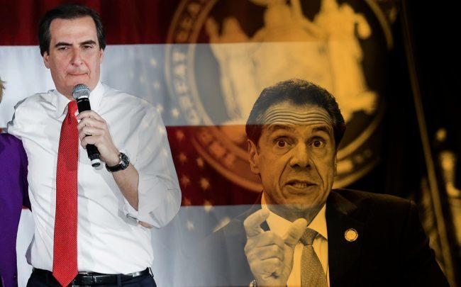 State Senator Mike Gianaris and Governor Andrew Cuomo (Credit: Getty Images)