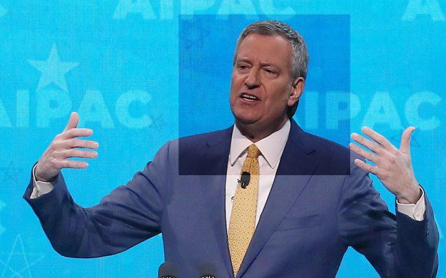 Mayor Bill de Blasio (Credit: Getty Images)