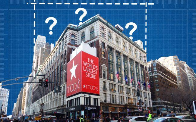 Macy's Herald Square store at 151 West 34th Street (Credit: iStock)