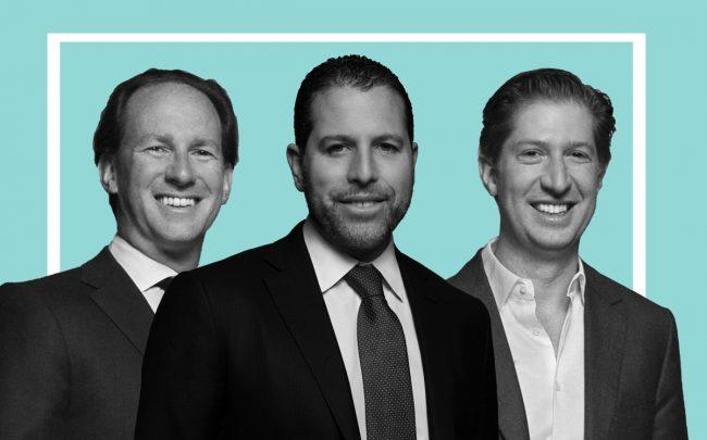 Madison Realty Capital managing principals Adam Tantleff, Josh Zegen and Brian Shatz