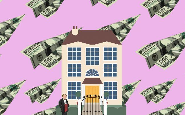 "The ""mansion tax"" ranges from .25 to 2.9 percent (Credit: iStock)"