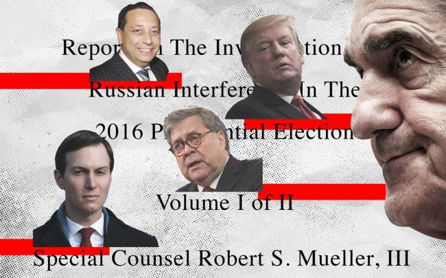 Image result for IMAGES OF MUELLER REPORT