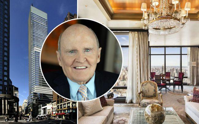 151 East 58th Street and Jack Welch (Credit: Wikipedia)