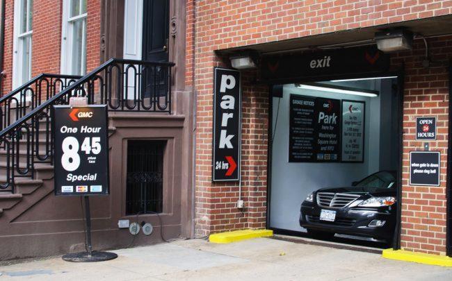 A parking garage in Manhattan (Credit: Wikipedia)