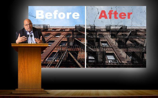 """The real crisis is the affordability crisis,"" John Banks, REBNY president (Credit: iStock)"