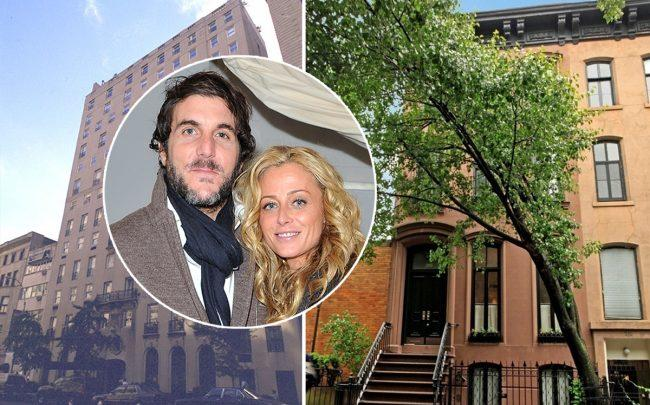 From left: 4 East 72nd Street, Haute Hippie's Jesse Cole and Trish Wescoat Pound, and 208 West 11th Street (Credit: CityRealty and Getty Images)