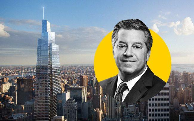 One Vanderbilt and SL Green CEO Marc Holliday (Credit: Curbed NY)