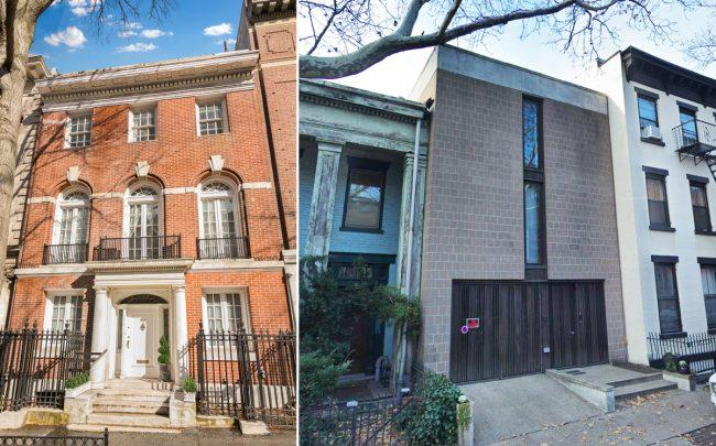 633 2nd Street and 44 Willow Place in Brooklyn (Credit: Google Maps)