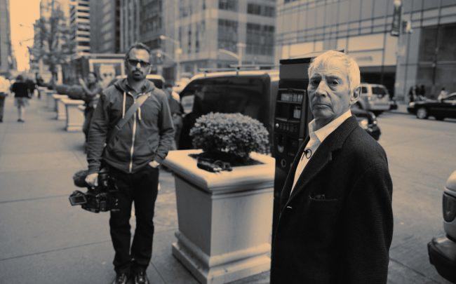 Robert Durst seen with The Jinx director Andrew Jarecki (Credit: The Jinx via Facebook)