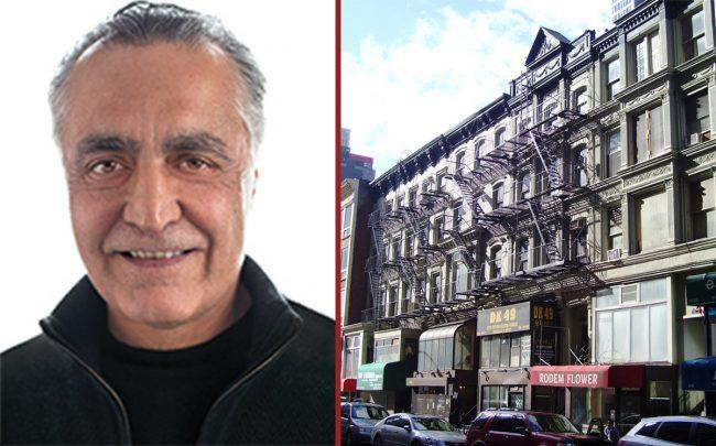 Yair Levy and 47-55 West 28th Street (Credit: Wikipedia)