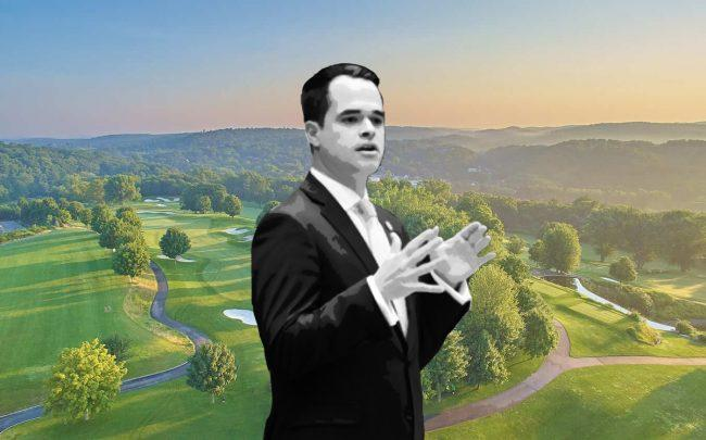 Trump National Golf Club Westchester and David Carlucci (Credit: Trump Organization)