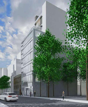 A rendering of 435 West 19th Street