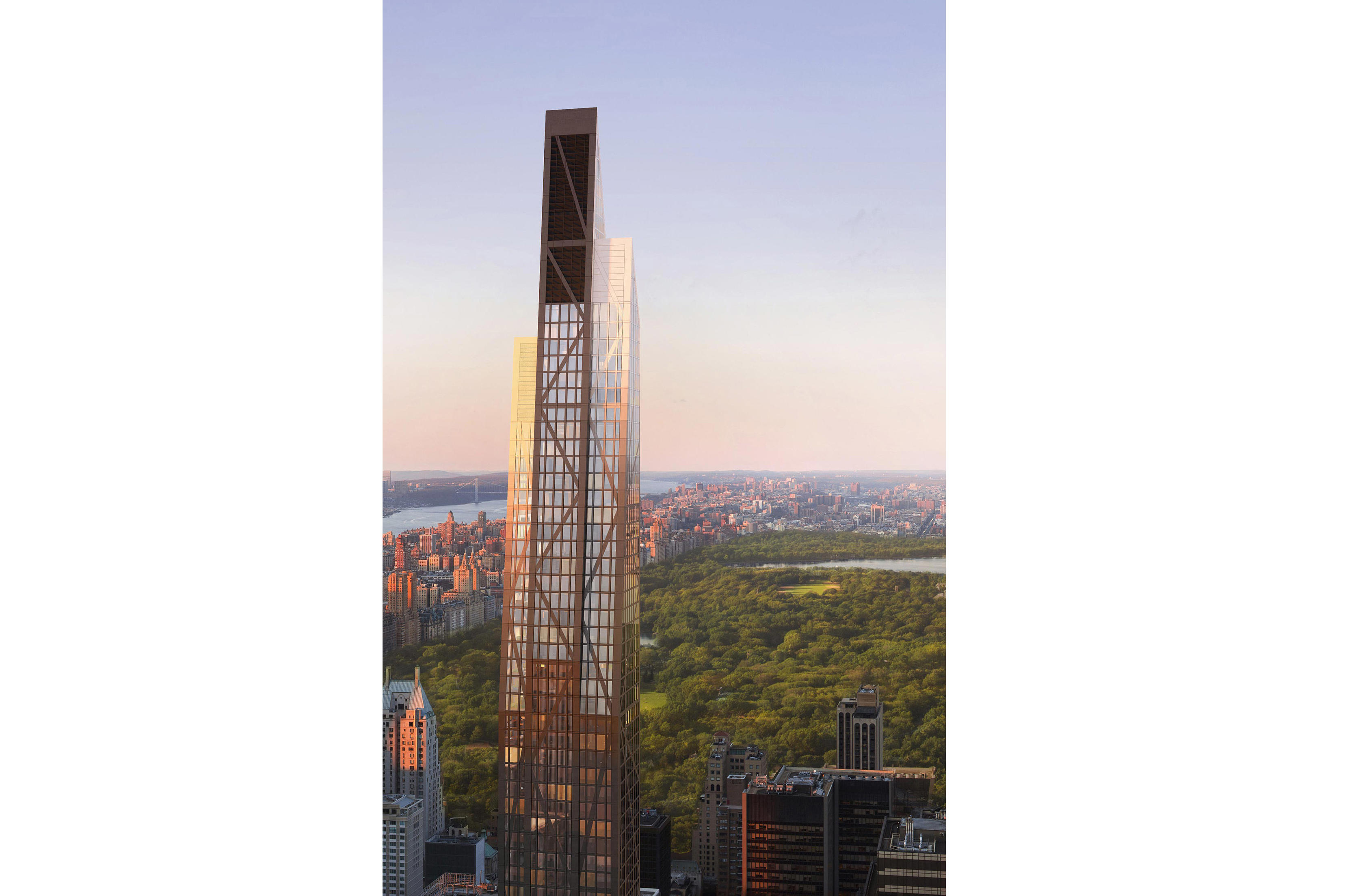 A rendering of 53 West 53rd Street