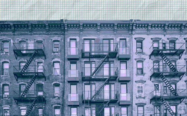 New York City apartment buildings (Credit: iStock)