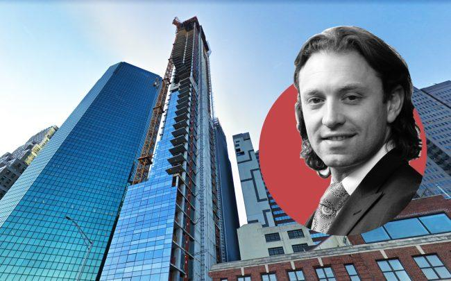 161 Maiden Lane and Fortis Property Group CEO Jonathan Landau (Credit: Google Maps and Fortis)