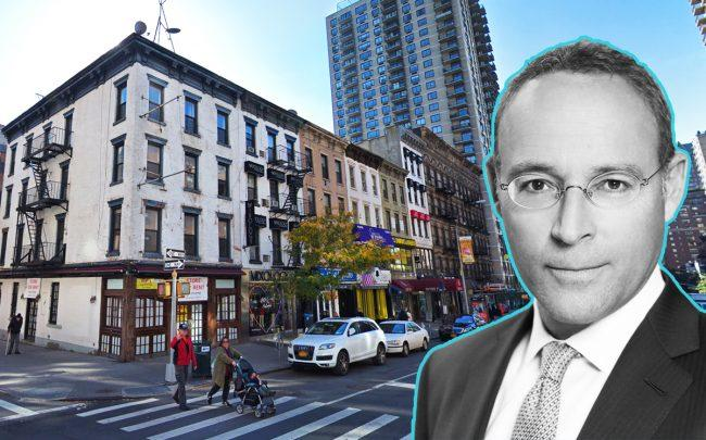 200 East 83rd Street and Naftali Group's Miki Naftali (Credit: Naftali Group)