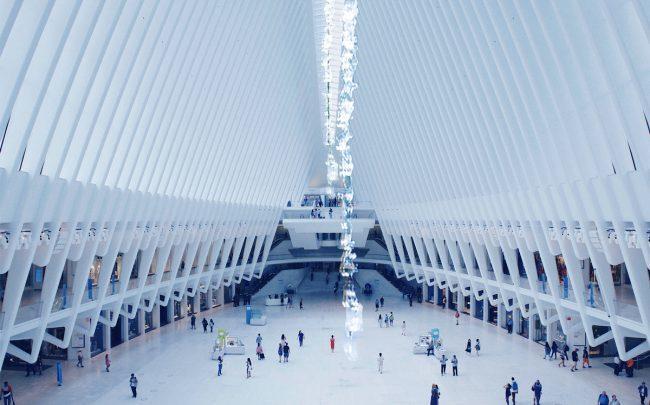 The World Trade Center Transportation Hub (Credit: Unsplash)