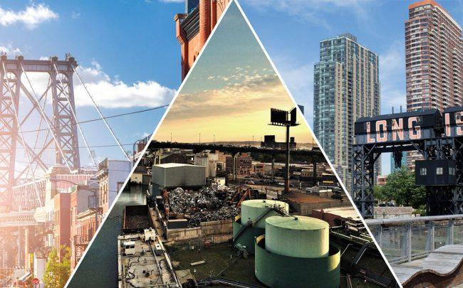 From left: Williamsburg, Gowanus, and Long Island City (Credit: iStock)
