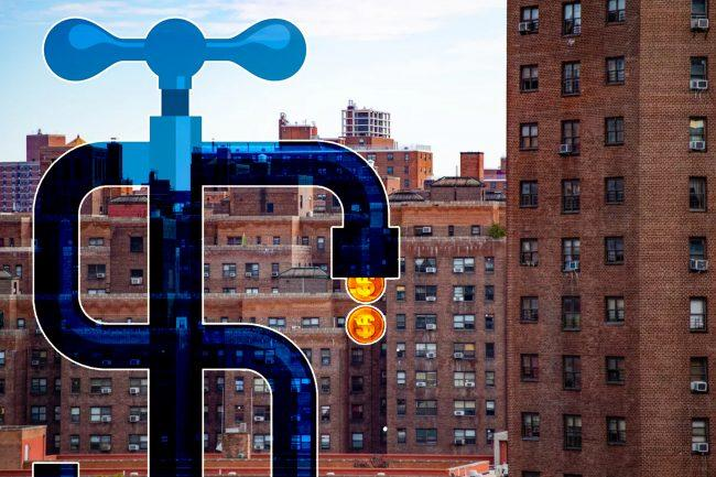 The hourly rate for NYCHA plumbers last year ranged from $232 to $378 (Credit: iStock and Curbed NY)