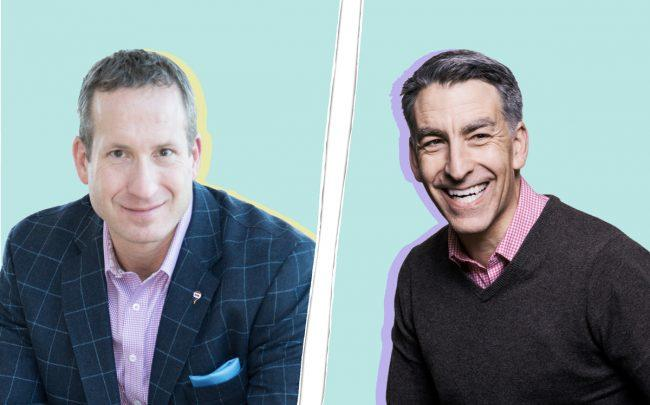 RE/MAX CEO Adam Contos and Redfin CEO Glen Glenn Kelman