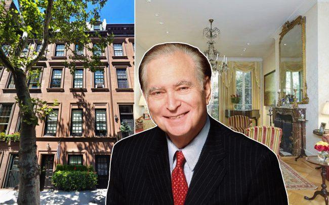 John Loeb Jr. and 237 East 61st Street in Lenox Hill (Credit: Google Maps and Wikipedia)
