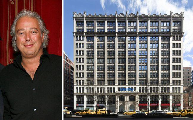 Aby Rosen and 345 Park Avenue South (Credit: Getty Images)