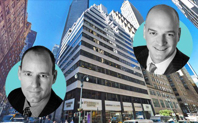 Savanna's Chris Schlank and Nick Bienstock with 360 Lexington Avenue (Credit: Google Maps)