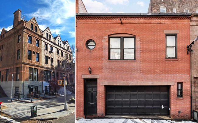 215 Clinton Avenue and 16 Grace Court Alley in Brooklyn (Credit: Google Maps)