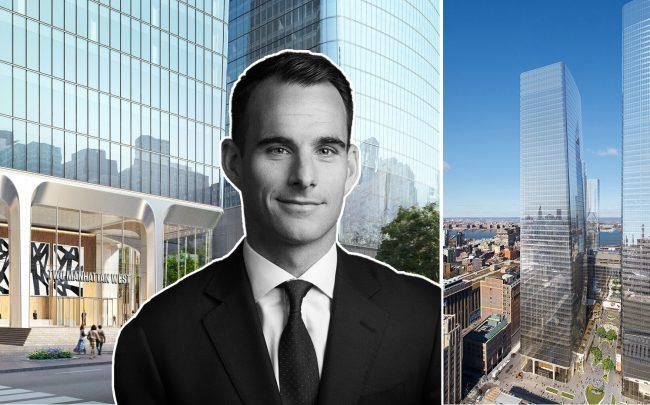 Two Manhattan West and Brookfield managing partner Ben Brown (Credit: Manhattan West NYC and Brookfield)