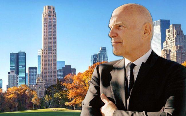 Vornado CEO Steve Roth and 220 Central Park South