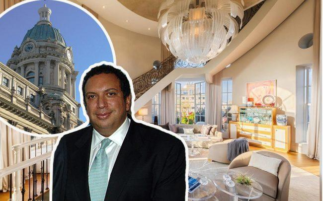 Ahmass Fakahany and 240 Centre Street's domed penthouse (Credit: Getty Images)