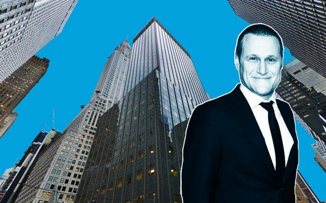 666 Third Avenue and Tishman Speyer CEO Rob Speyer (Credit: Google Maps)