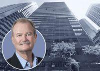 AIG CEO Brian Duperreault and 175 Water Street (Google Maps)