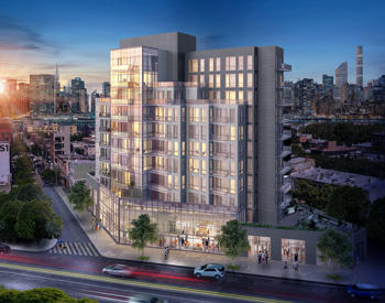Renderings of The Prime at 22-43 Jackson Avenue in Long Island City