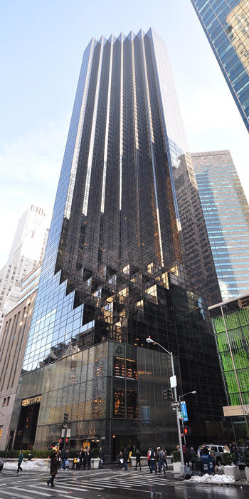 Trump Tower at 725 5th Avenue (Credit: Wikipedia)