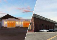 Renderings and the currrent site at 1080 Leggett Avenue in the Bronx