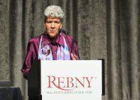 Marisa Lago at REBNY's annual commercial management leadership breakfast