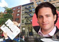 416 West 25th Street and Maverick Real Estate Partners principal David Aviram (Credit: Google Maps and LinkedIn)