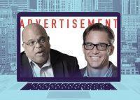 REBNY president John Banks and Zillow CEO Richard Barton (Credit: iStock)